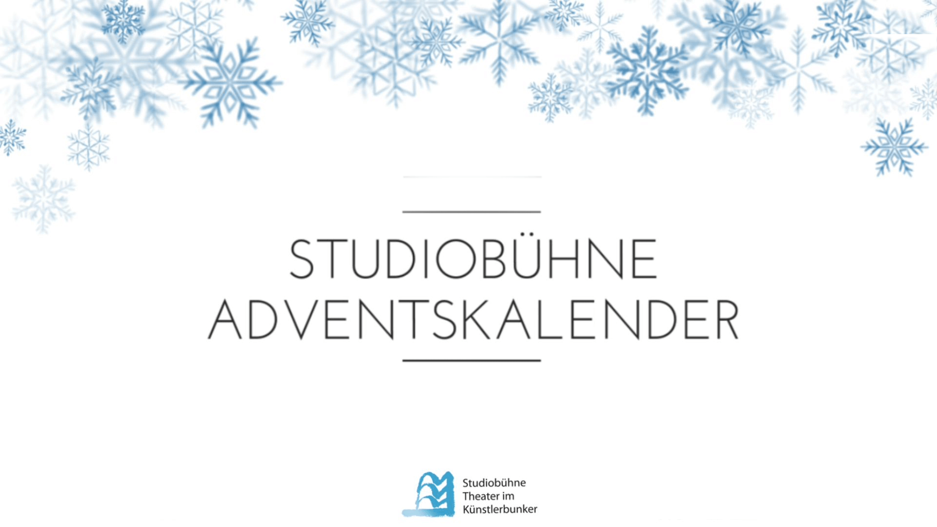Studiobühne Adventskalender